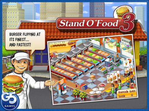 APPSTORE: Stand O´Food 3 HD (full) Gratis por Tiempo Limitado más otros juegos GRATIS