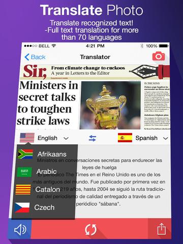 Translate Photo GRATIS tiempo limitado Valor real 5 dólares. APPSTORE ademas LOCK NOTES PRO Gratis