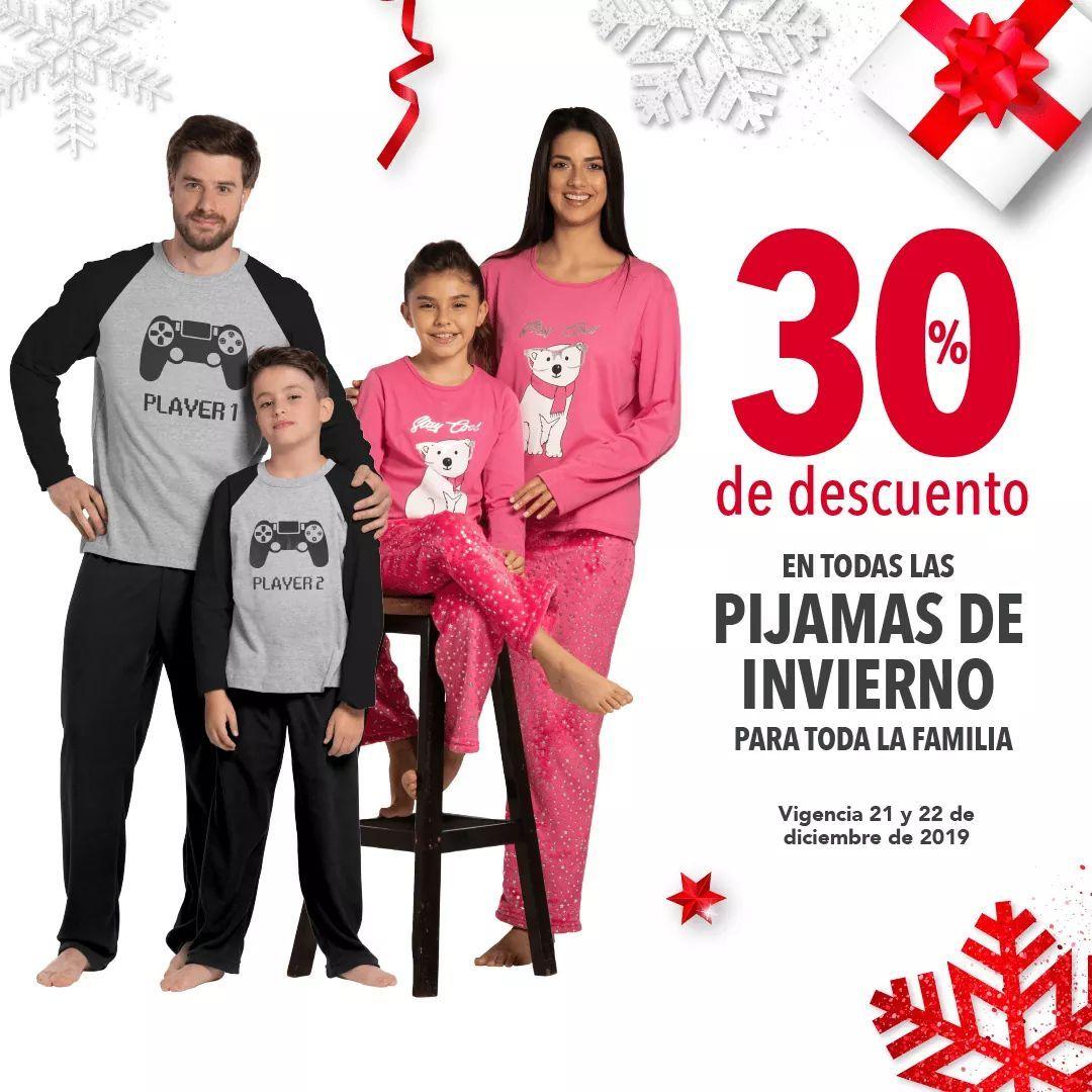 Woolworth: 30% de descuento en todas las pijamas de invierno para toda la familia