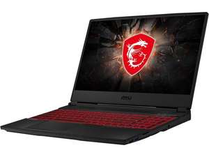 "Newegg: Laptop MSI GL65 15"" i7 9750H GTX 1650"