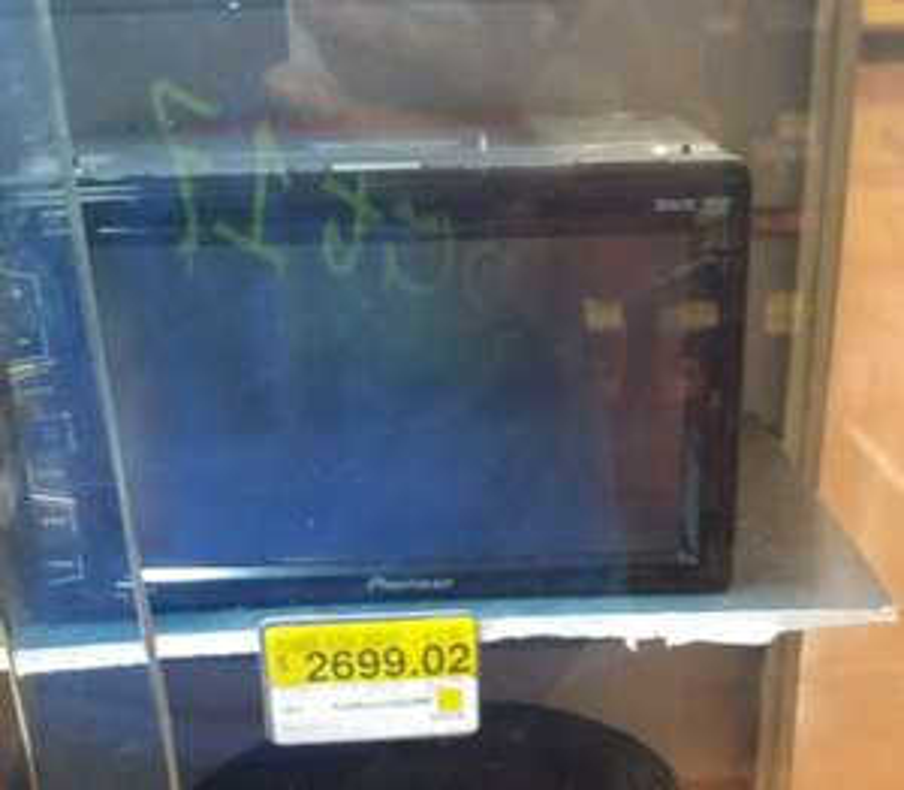 Walmart Jiutepec: Pioneer AVH-175DVD segunda liquidación a $2,699.02