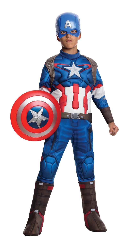 Amazon: disfraz de Capitán América talla grande a $144
