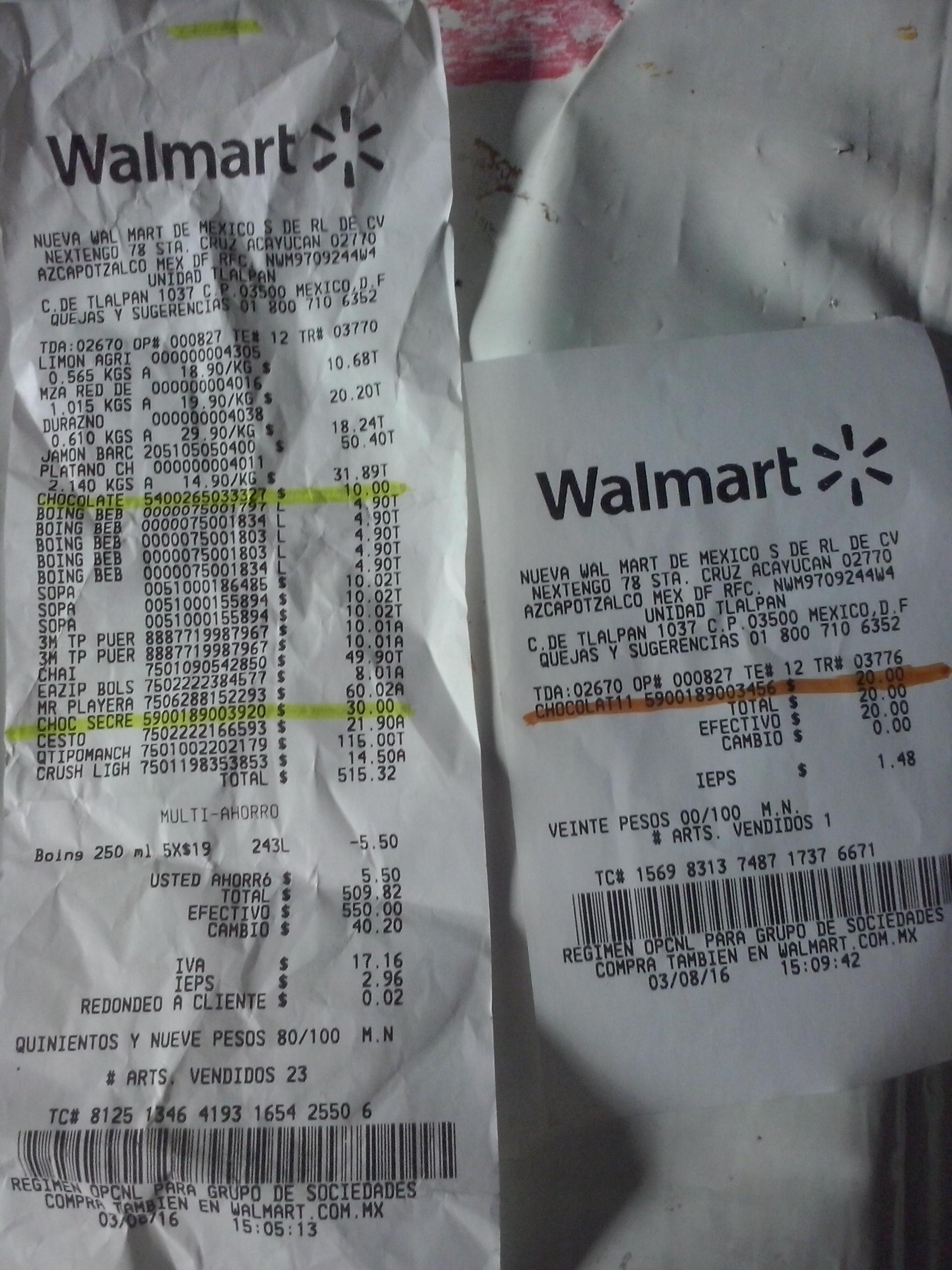 Walmart: chocolates de Bélgica y Polonia desde $10