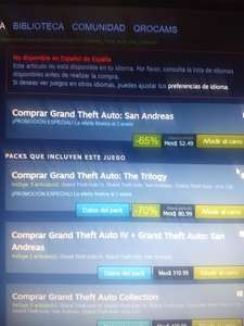 Steam: Grand Thef Auto the trilogy a 80.99