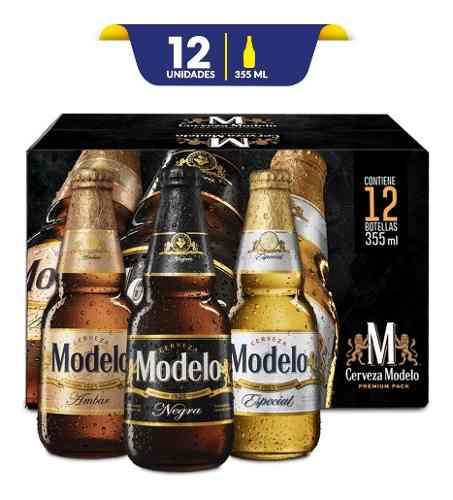 Tienda Oficial de Grupo Modelo en Mercado Libre: Cerveza Modelo Combo Premium Pack 12 Botellas De 355ml C/u