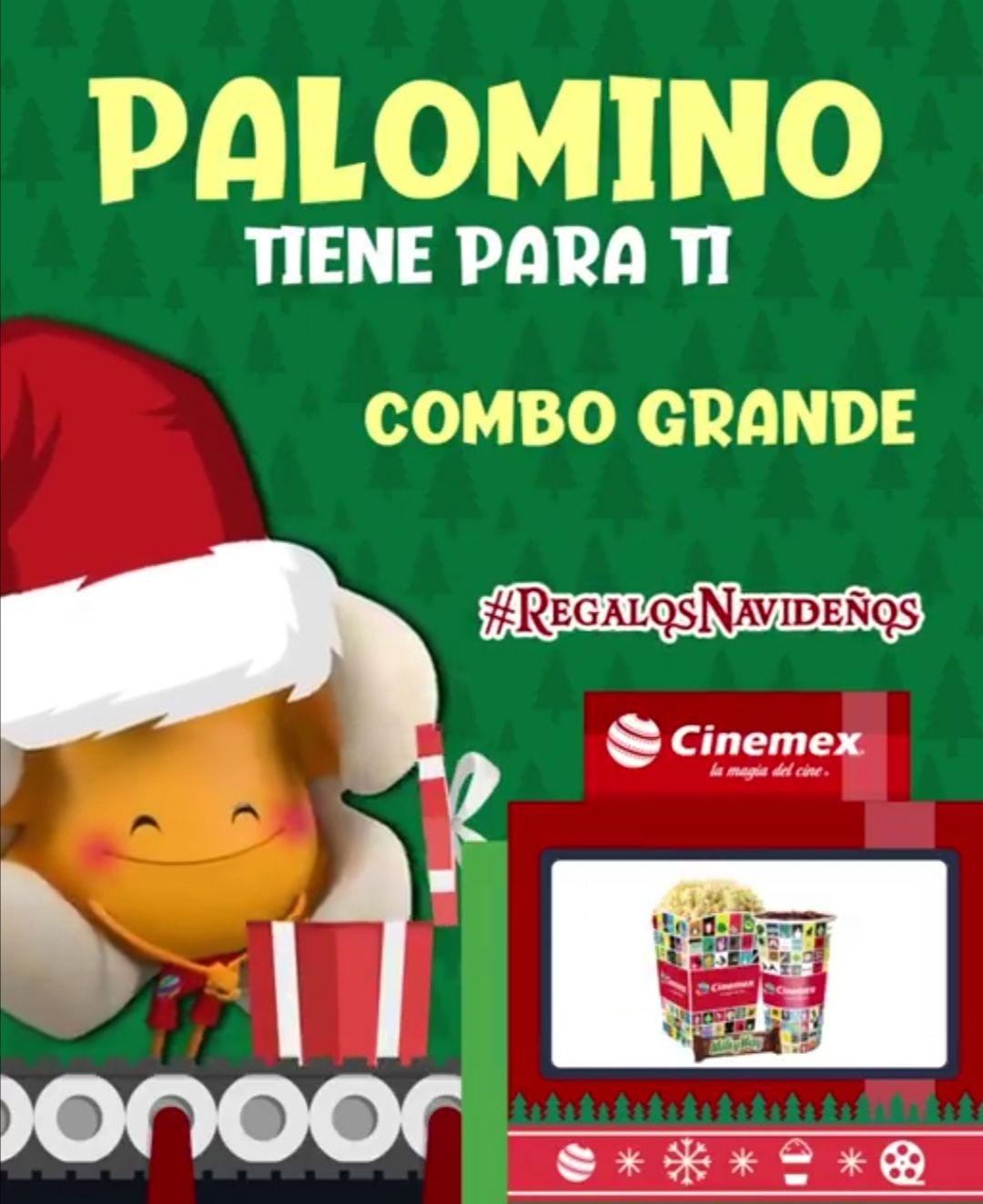 Navidad cinemex combo gde