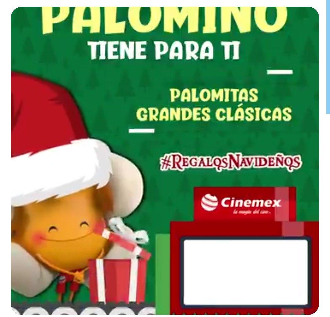 Cinemex Palomitas Gdes Gratis