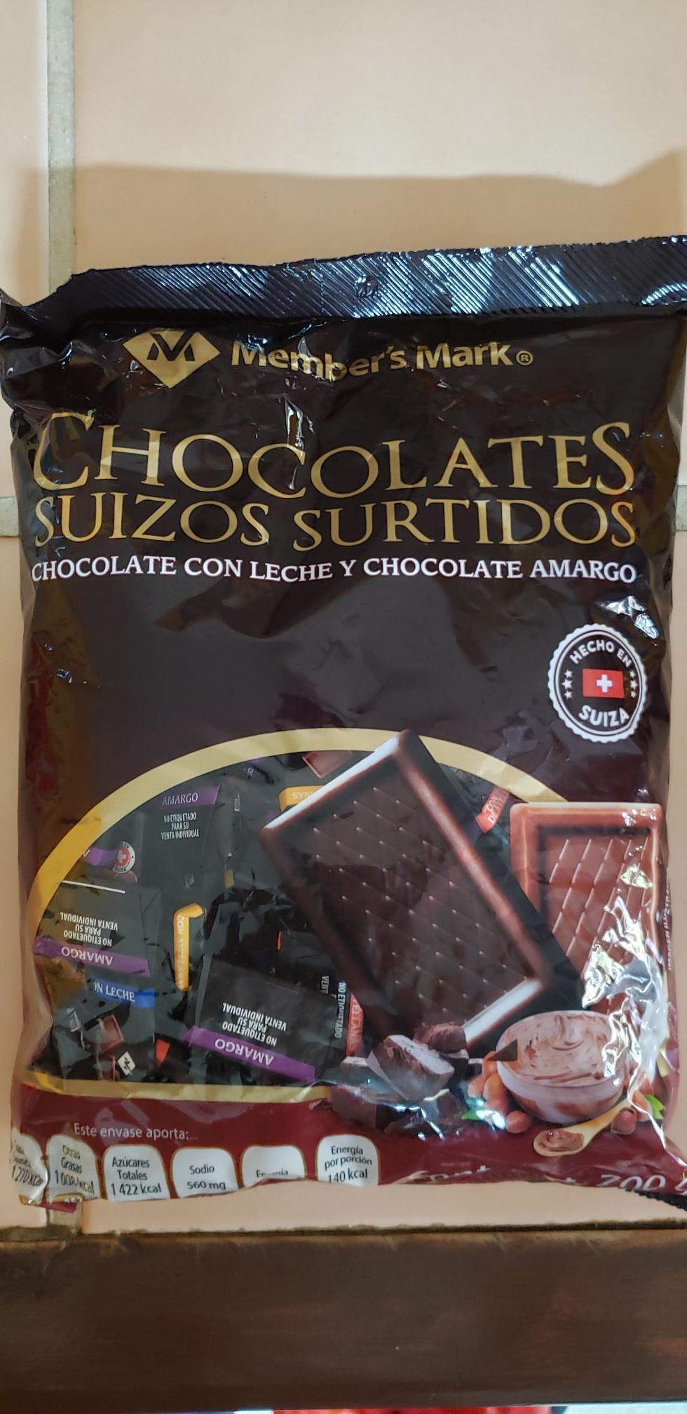 Sam's Club: Chocolates Suizos Members Mark