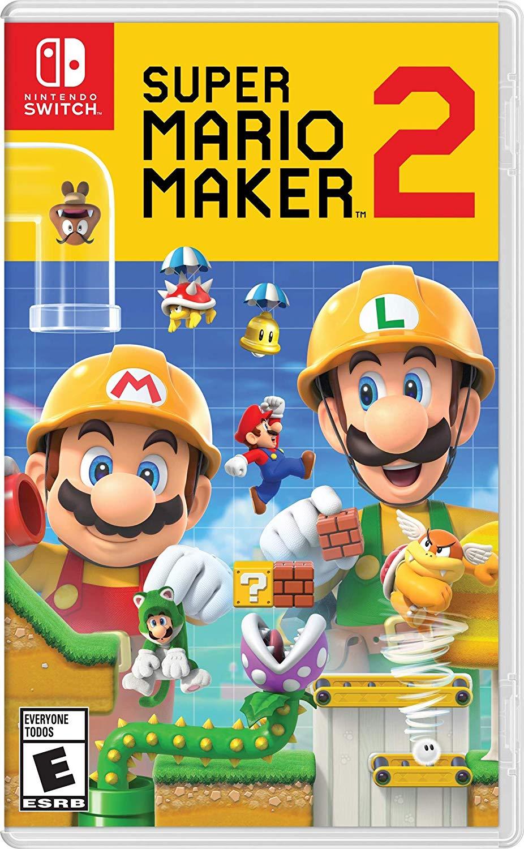 Amazon: Super Mario Maker 2 para Nintendo Switch con Amazon Recargable