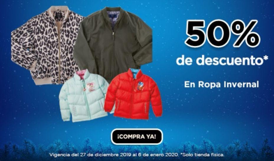 Chedraui: 50% de descuento en ropa invernal