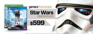 Gamershop: Star Wars Battlefront para Xbox One o PS4 a $599