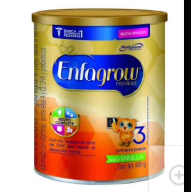 Farmacias del Ahorro: 2 latas de fórmula Enfagrow 3 de 400g por $185
