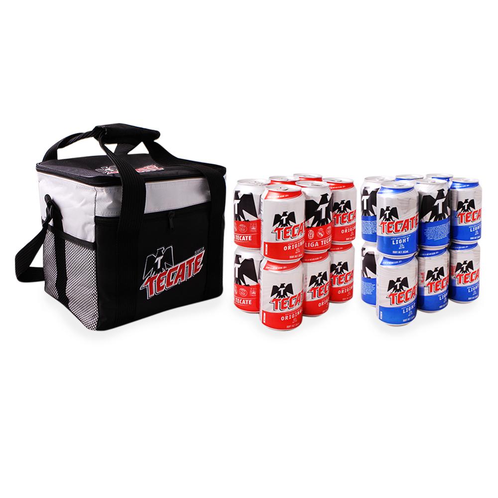 Superama en línea: Paquete de Hielera + 24 cervezas Tecate a $159.00