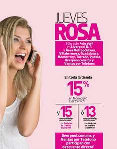 Jueves Rosa Liverpool abril 4