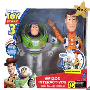 Costco: Woody y Buzz Light Year, interactivos