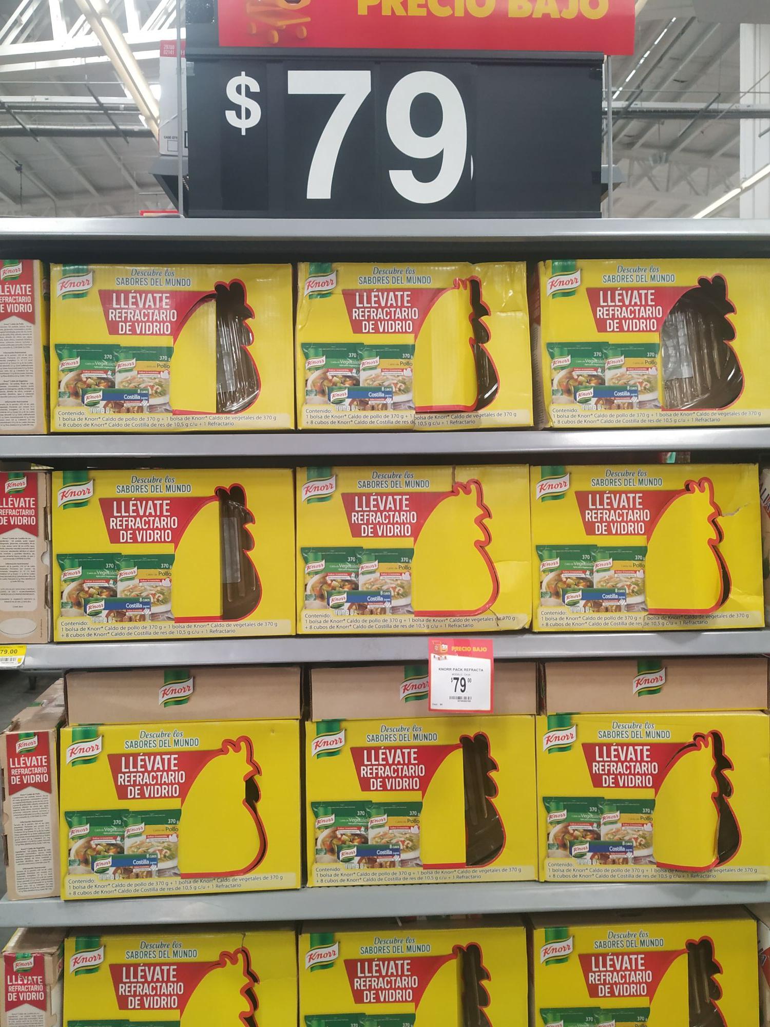 Walmart: knorr refractario