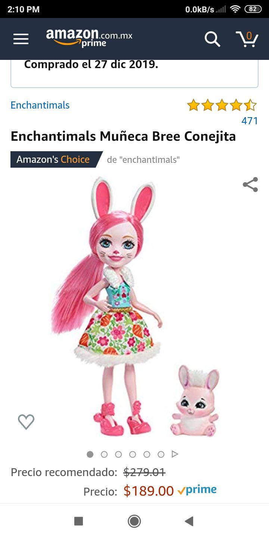 Amazon: Enchantimals Bree Conejita