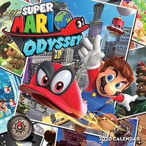 Amazon: Calendario 2020 de Super Mario Odyssey o Pokémon
