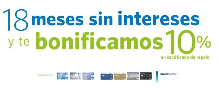 Sam's Club: 10% de bonificación + 18 meses sin intereses con Bancomer