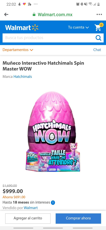Walmart: Hatchimal wow