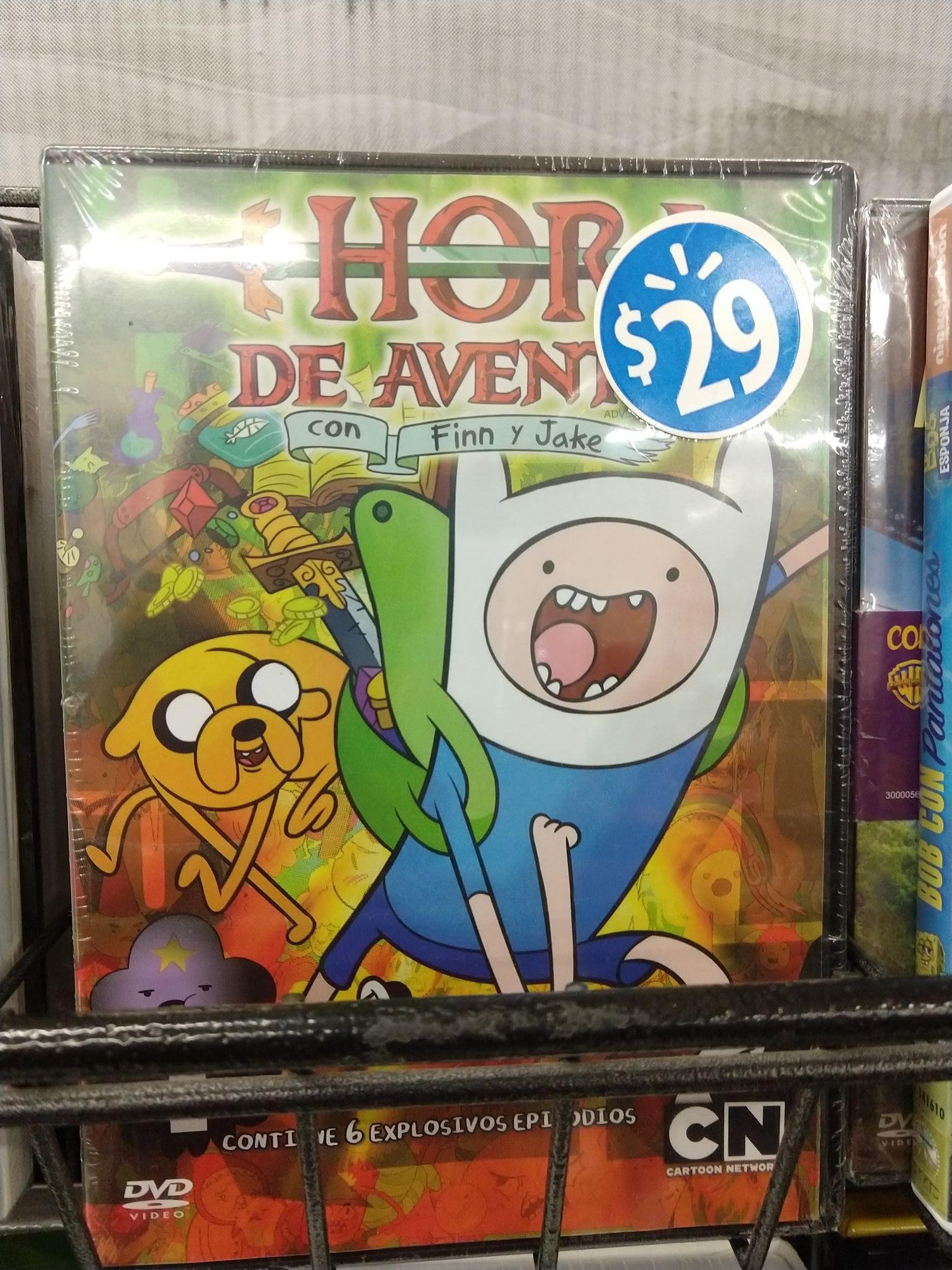 "Walmart: DVD de ""Hora de aventura"""