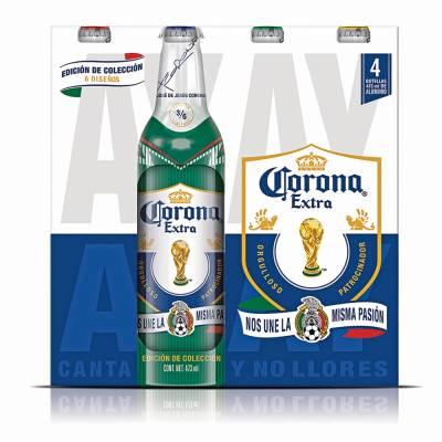 Superama: 8 cervezas Corona edición de colección 473ml $71.50