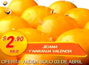 Miércoles de Plaza en La Comer abril 3: jícama $2.90 y más