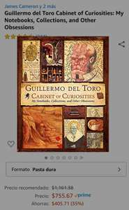 Amazon: Guillermo del Toro Cabinet of Curiosities: My Notebooks, Collections, and Other Obsessions