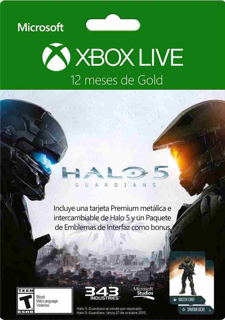 B-Store en línea: Xbox Live Gold 12 meses a $560