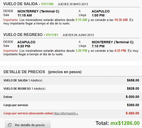 Vivaaerobus: vuelos nacionales desde $628 entre abril y junio + cupón de 30% de descuento