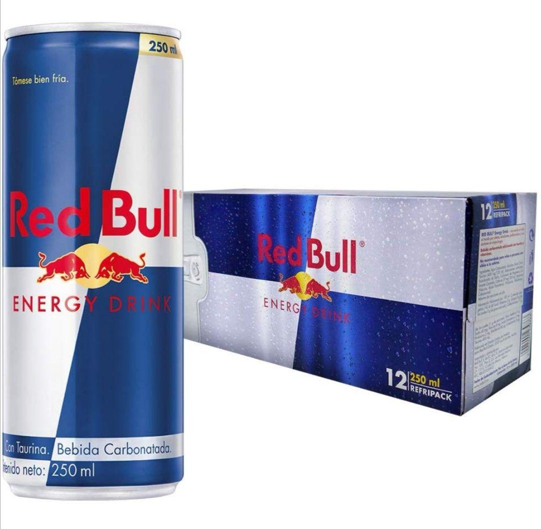 Amazon: Red Bull, Energy Drink, 12 piezas de 250ml ($13.75 cada lata)