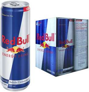 Amazon: Red Bull pack de 4 de 355ml