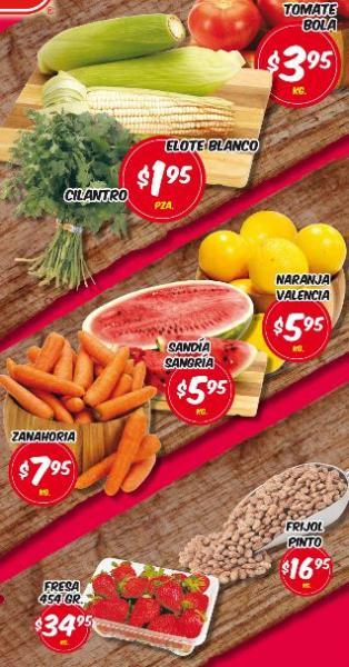 Frutas y verduras HEB abril 2: tomate $3.95, cilantro $1.95 y más