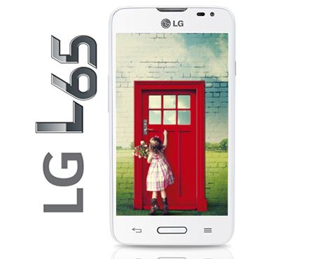 Sanborns en línea: LG L65 D280 color blanco a $1,129