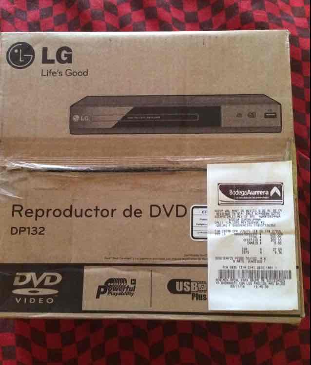 Bodega Aurrerá: DVD LG a $200