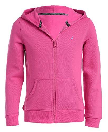 Nautica Sudadera con Capucha y Cierre color rosa talla chica para niñas aplica prime