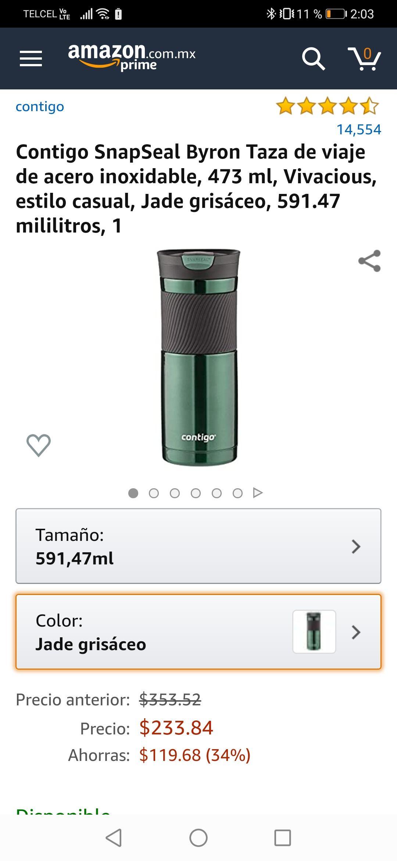 Amazon: Termo Contigo 592 ml.