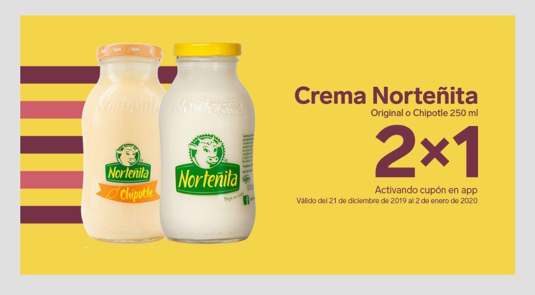 7 Eleven App: Crema Norteñita 2x1
