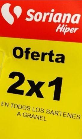 Soriana Híper: 2 x 1 en todos los sartenes
