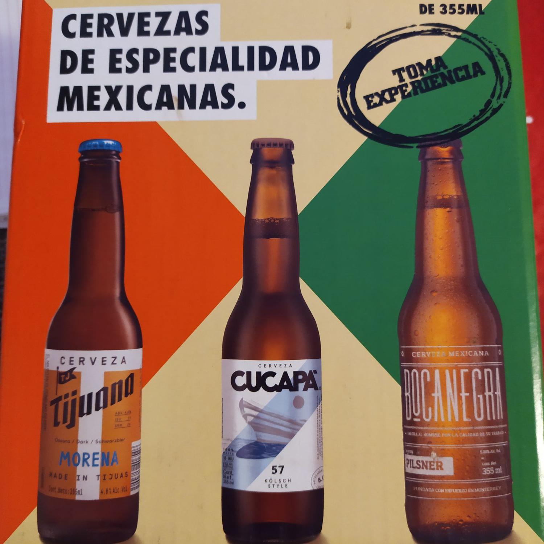 Walmart. Cervezas de Especialidad Mexicana