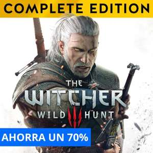 Playstation Store: The Witcher 3: Wild Hunt - Complete Edition