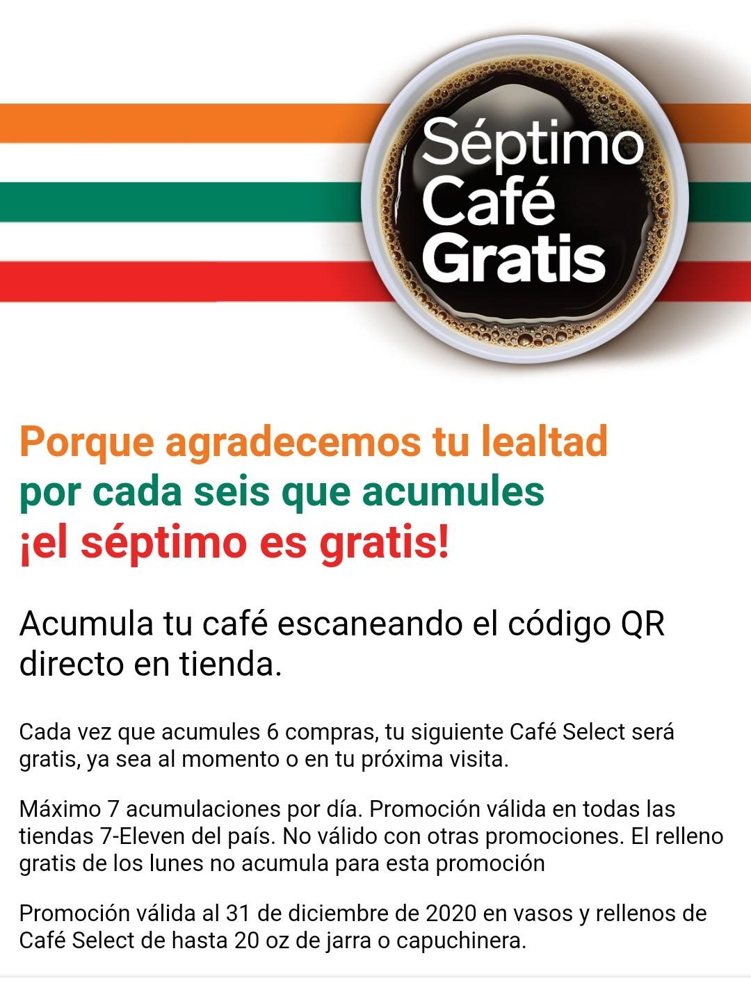 7 eleven-nuevo cupon del septimo café gratis 2020