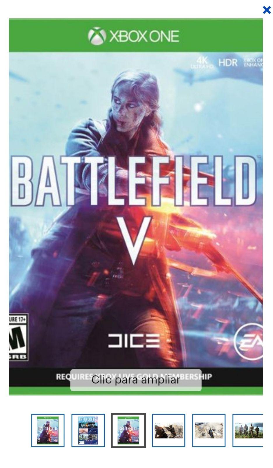 Best buy Battlefield V xbox y ps4