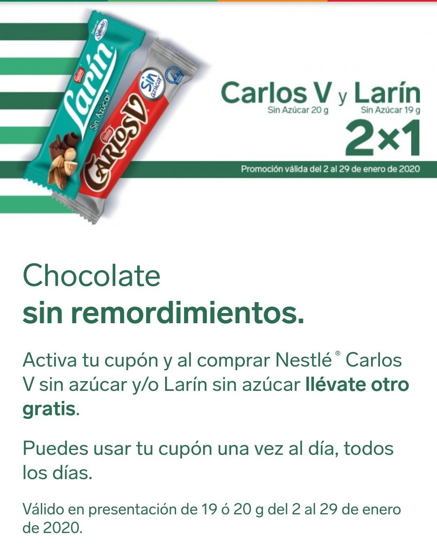 7 eleven app-cupon para 2x1 Carlos v sin azúcar y larin sin azucar