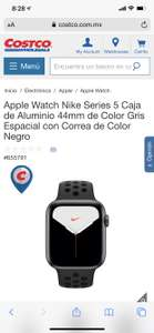 Costco Apple Watch 5 Nike Edition 44 mm aluminio