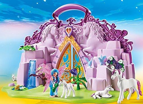 Amazon: Playmobil Maletín Castillo de Unicornos