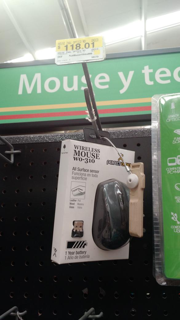 Bodega Aurrerá: Mouse inalámbrico Perfect Choice