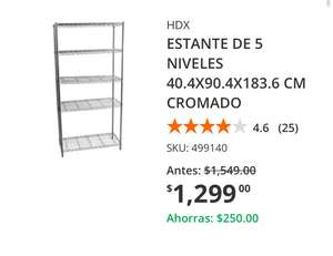 The Home Depot: Estante Metálico