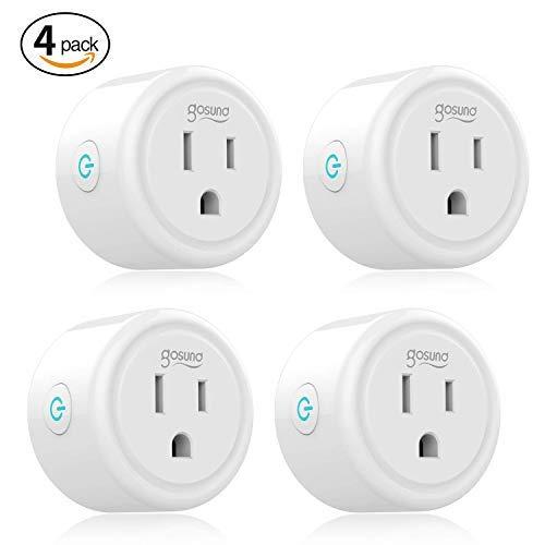 Amazon EU: 4 Smart Plugs compatibles con Alexa y Google Home