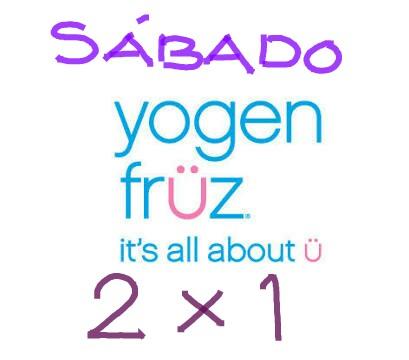 Liverpool: ahora sábados 2x1 en Yogen Früz